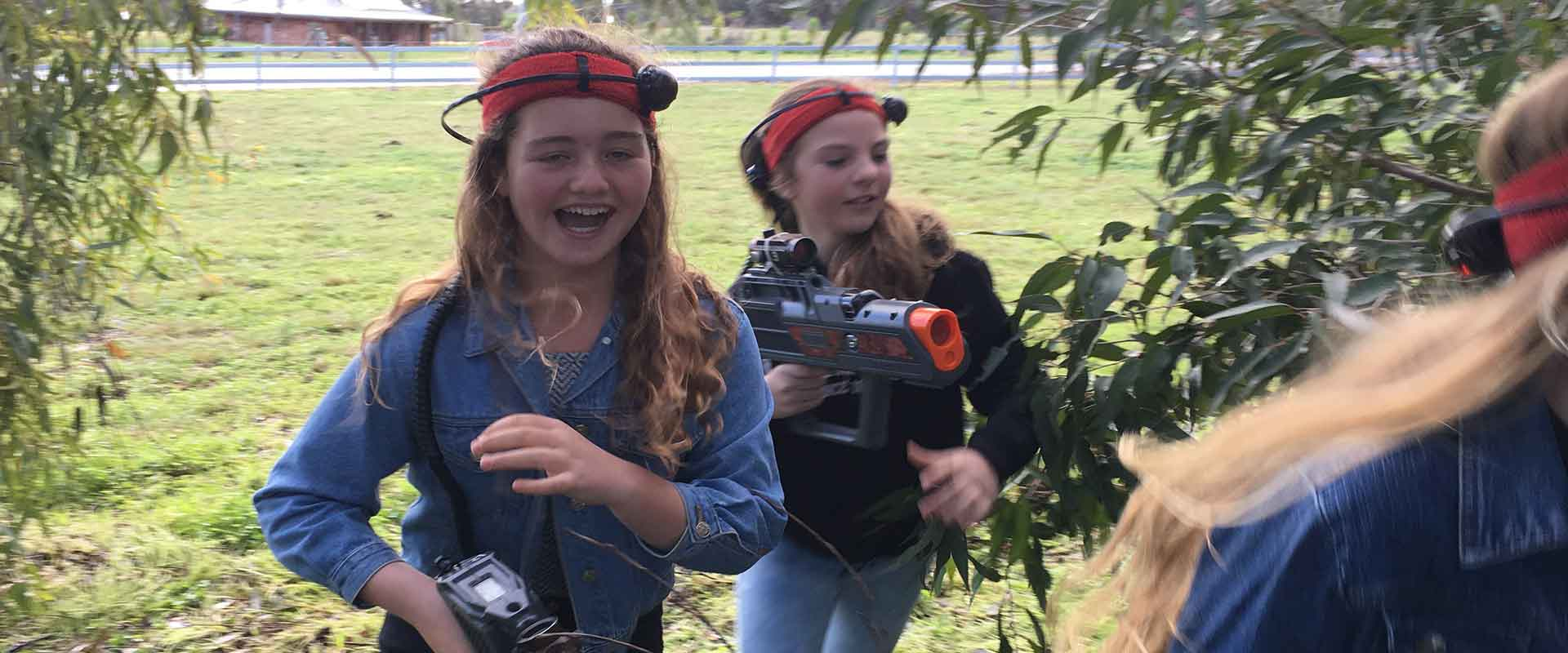 Birthday Party Fun with Mobile Laser Quest Laser Tag Skirmish